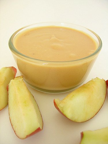 Dip and apples
