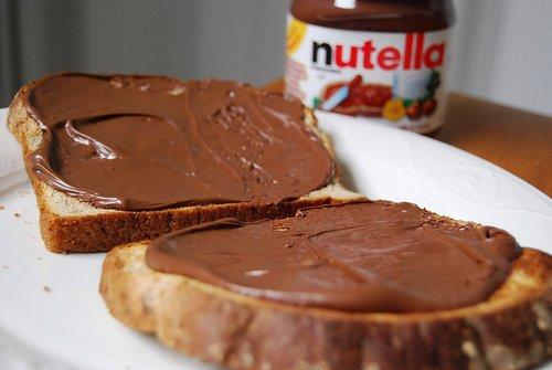 Nutella sandwiches