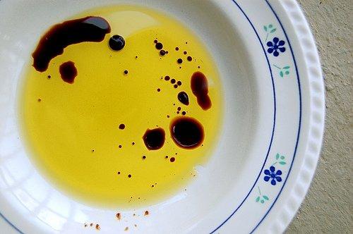Vinegar in oil