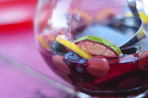 Sangria closeup
