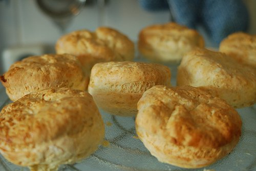 Just baked scones