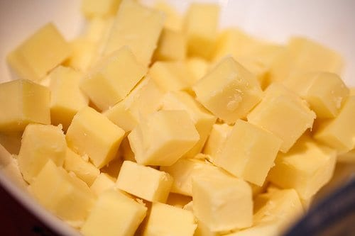 American cheese cubed