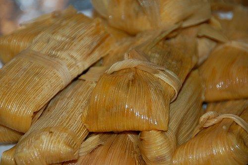 Batch of tamales
