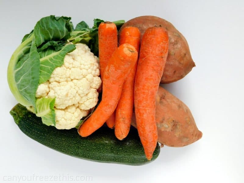 Carrots and other veggies