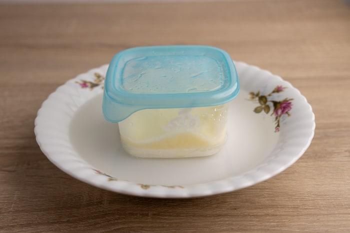 Defrosting frozen greek yogurt