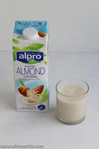 Can You Freeze Almond Milk? - Can You Freeze This?